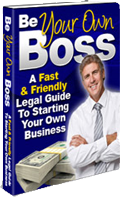 Be Your Own Boss: A Fast and Friendly Legal Guide to Starting Your Own Business